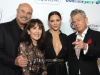 Phil McGraw, Robin McGraw, Katherine McPhee and David Foster