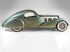 bugatti aerolithe vintage car side view