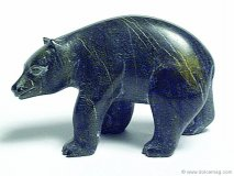 Polarbear sculpture - Art Gallery of Ontario