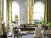 The regal drapes that take your eye to the centre of this room are Designers Guild's Gallica Rose – Citrine from the Royal Collection Campanula Fabric. Photo By Designers Guild / ©James Merrell