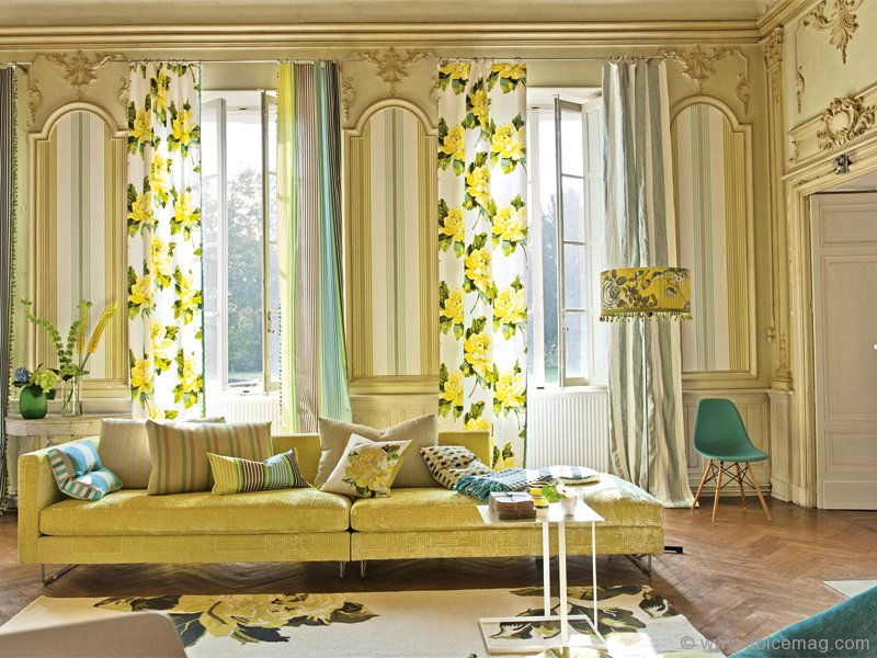 Britain 39 s great tricia guild dolce luxury magazine for Designers guild bedroom ideas