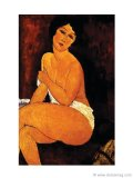 This nude by Italian painter Amedeo Modigliani was sold for nearly $69 million at Sotheby's auction in New York.