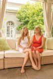 Susan Hawkins and Erin Somers host first ILC Foundation Garden Party