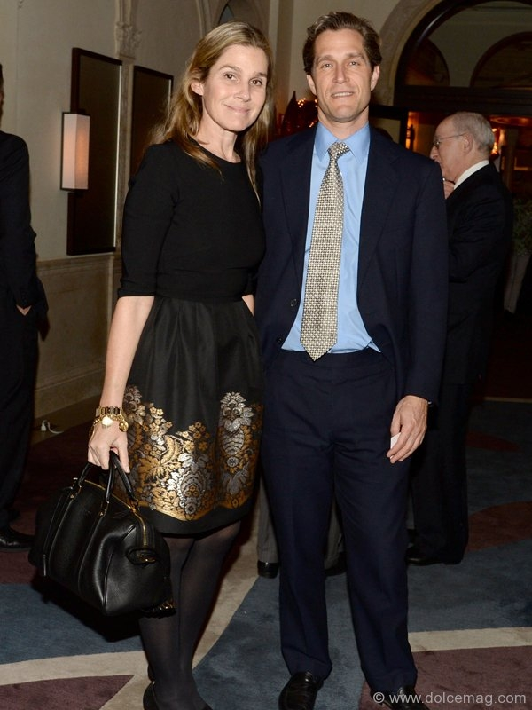Aerin Lauder Zinterhofer and Eric Zinterhofer