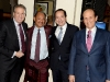 Glenn Myles, Kneeland Youngblood, John Paulson and Michael Milken