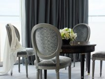 The Christian Dior Suite at the Hôtel Le Majestic Cannes in the French Riviera was designed by Nathalie Ryan, founder and head designer at Kirei Studio