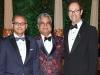 1. Dr. Anil Chopra, Raj Kothari, Dr. Michael Baker | Photos by Ernesto Distefano