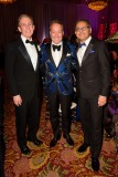 Dr Peter Pisters President and CEO UHN, Richard Wachsberg TGWHF Board Member and Dr Anil Chopra Medical Director Emergency Medicine UHN
