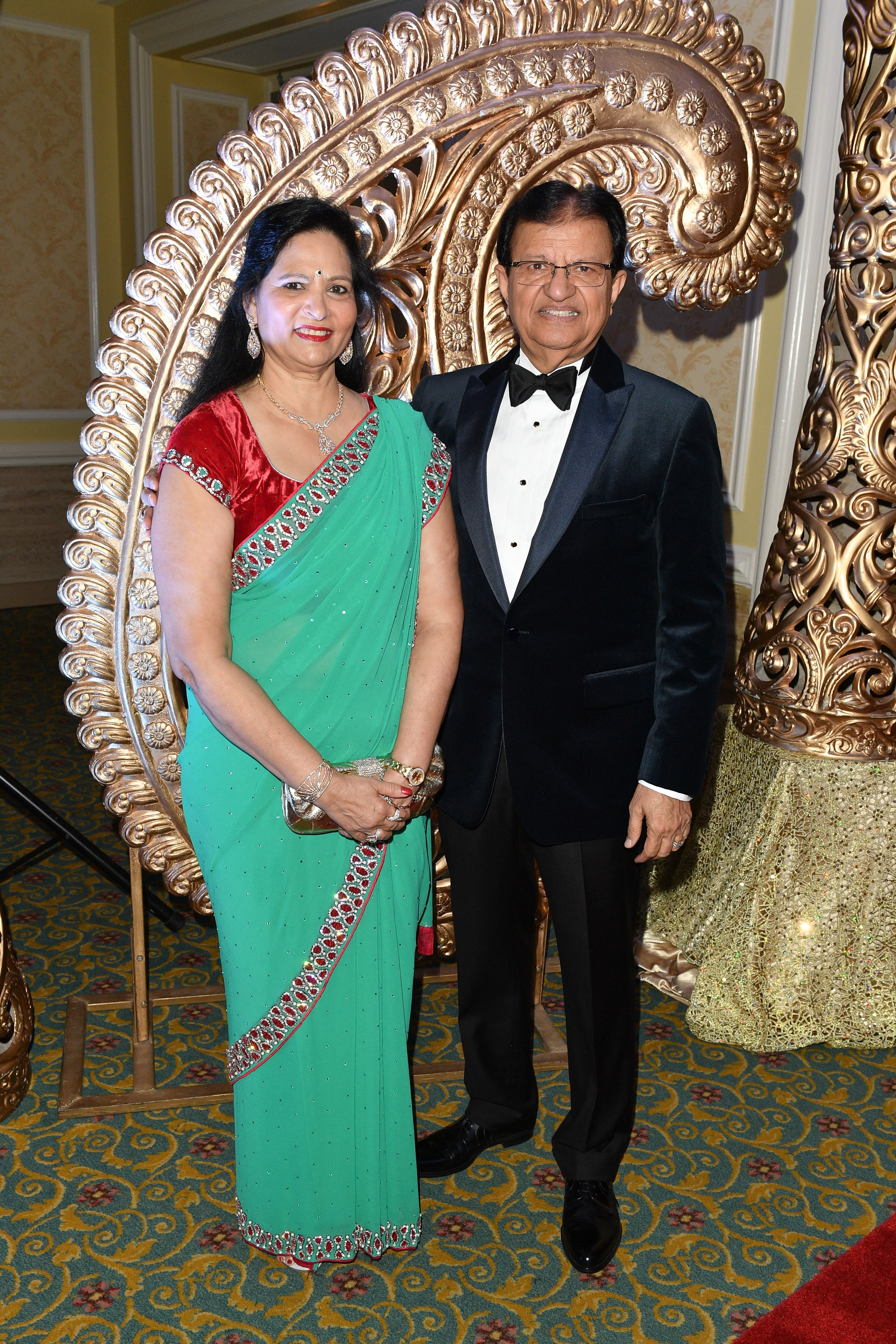 Rashmi Gupta and Event Co-Chair Dr Steve Gupta