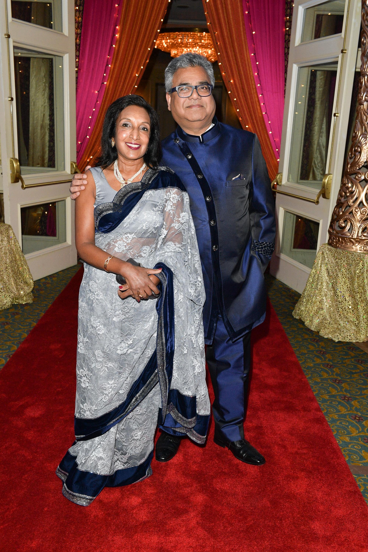 Shaila Kothari and TGWHF Board Member Raj Kothari