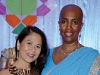Donette Chin-Loy and Toni Spooner, president of Maroon Communications
