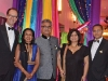 Dr. Michael Baker, event co-chair; Shaila Kothari; Raj Kothari, event co-chair; Mala Chopra; and Dr. Anil Chopra