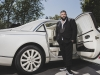 DJ Khaled stands in front of his rarity of a car, Maybach Landaulet, reflecting his own individuality and prestige in the music industry | Photography by Jesse Milns