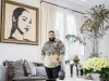 Though DJ Khaled started at the bottom, he has taken the music industry by storm, collaborating with some of the world's most notable artists / Gold and black silk shirt by 5001 Flavors designed by Terrell Jones | Photography by Jesse Milns