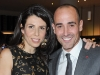 David Rocco with his wife, Nina Rocco, at the launch of his new wine collection, David Rocco's Dolce Vita Wines