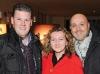 Sandy Mirotti of Per Lui, with Michelle Zerillo-Sosa of Dolce Media Group, and Paul Aureli of Per Lui