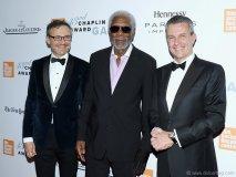 2. Morgan Freeman Honoured at the 43rd Chaplin Award Gala