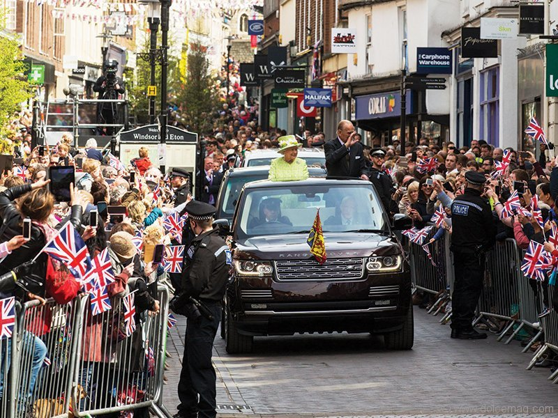 1. Queen Elizabeth Rings in Her 90th with a Parade