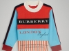 "2. Burberry: This colour-block sweatshirt screams ""Burberry"" with its printed logos 