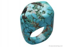 Nest Turquoise Nugget Ring