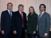 The Trump legacy continues to inherit triumph and prestige as Eric, Ivanka and Donald John Trump Jr. fulfill their roles as executive vice presidents of The Trump Organization. Donald Trump is all smiles.