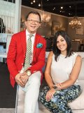 Jacques Dinel and Vanessa Di Girolamo, partners of Arteriors