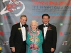 gordon cressy president of the george brown college foundation with hazel mccallion mayor of mississauga and dr joseph wong yee hong founder and foundation chair