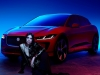 Dua Lipa and the new Jaguar I-PACE | Photo courtesy of Jaguar