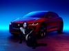 Dua Lipa and the new Jaguar I-PACE | Photo courtesy of Jaguar