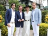 2. Nacho Figueras; Johnny Hornby, Sentebale chairman; Delphi Figueras; and Prince Harry, Duke of Sussex | Photos by Chris Jackson