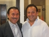 Frank Piacentini, owner of Canaroma, and Frank Campoli, president of JTF Homes