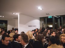 The busy Earth Gallery opening featuring Francesco Carrozzini, which debuted in France on Sept. 30, 2015