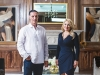 Dominic Alessandro, president of Canadian Heritage & Suzi Kaloti, owner of Lavish Design Build | Photo by Geoff Fitzgerald