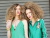 """Look 3 / Who doesn't """"heart"""" the casual chicness of these outfits? Bold colours ensure you'll stand out from the crowd"""