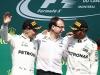 Valtteri Bottas, Loic Serra, Lewis Hamilton