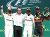 Valtteri Bottas, Loic Serra, Lewis Hamilton, Daniel Ricciardo