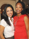 Farah Nasser (anchor/reporter, CityNews) and Tracy Moore (host of CityLine).