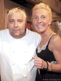 Chef Marc Thuet with wife and business partner, Biana Zorich.