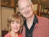 Actors and comedians Debra McGrath and husband, Colin Mochrie.