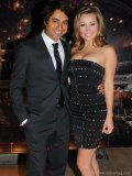 hosts  Jian Ghomeshi and Ashley Leggatt