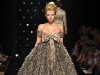 Be a silver belle in this stunning baby doll frock by Tony Ward. Adorned with endless feathers and just the right amount of shimmer, this dress is unequivocal. www.tonyward.net