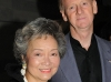 The Right Honourable Adrienne Clarkson (former governor-general ) and her husband, John Ralston Saul.
