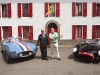 Rob Myers, RM Auctions' chairman  and founder proudly stands by  two star attractions at the Ferrari Leggenda e Passione event in Maranello, Italy in May 2009.