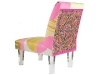 Ornate patterns and a transparent strut make the Reserved Seating chair the perfect resting place for VIPs.