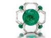 This intricate emerald and diamond ring by Bhagat is just one of the many exceptional beauties auctioned by Christie's.