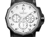The 50th anniversary Admiral's Cup Black Chronograph 40 sports sparkling diamonds wrapped in intense black.