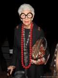 Iris Apfel attends the Couture Council of the Museum of FIT's Alber Elbaz lunch at the Rainbow Room in New York City. Photo By Conde Nast