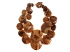 A third item from her Yoox.com line, this ready-to-wear banana leaf resin necklace goes with any casual outfit. Photo By Vanessa Lenz Photography