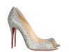 Christian Louboutin Pumps: Electrify the night with Christian Louboutin's sparkling Swarovski Crystal-encrusted peep-toe pumps.