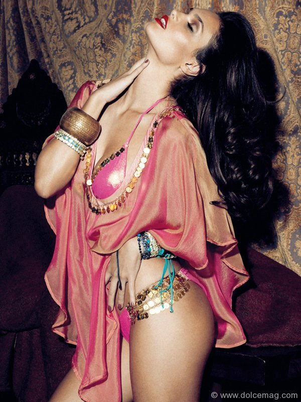 Hips Don't Lie A silk chiffon tunic with gold coin detail embraces your body with a royal look. www.beachbunnyswimwear.com